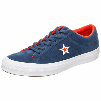 Converse Cons One Star Suede Molded Ox (159731C) blau
