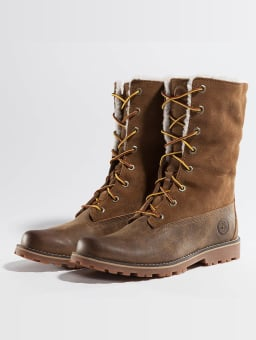 Timberland 6 In Waterproof Shearling (CA1BXZ) braun