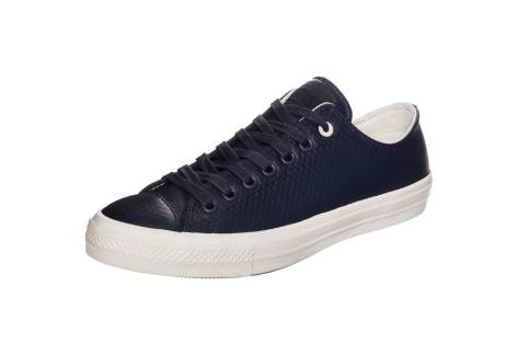Converse Chuck Taylor All Star II Mesh Ox Leather (153557C) blau