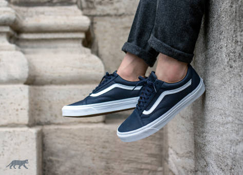 Vans Old Skool Premium Leather (VA38G1MRU) blau