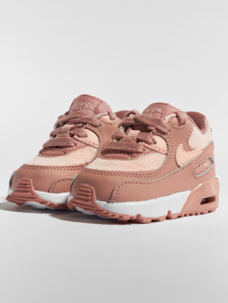 sports shoes 9d5d7 c7fad Nike Air Max 90 SE Mesh TD Toddler (880306601) pink