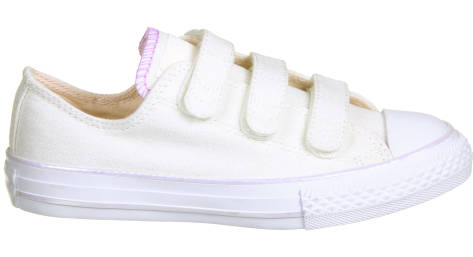 Converse Chuck Taylor All Star 3V Ox (656041C) weiss