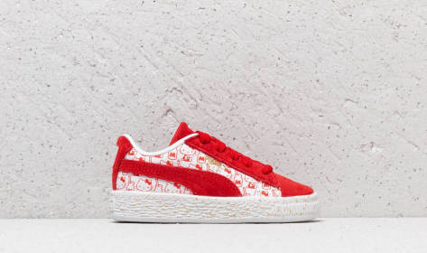 Puma Suede x Classic Hello Kitty (36646501) rot