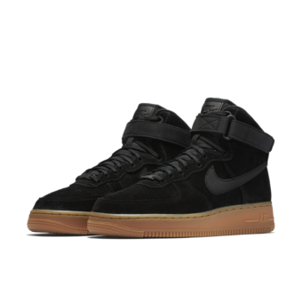 Nike WMNS Air Force 1 Hi SE (860544-004) schwarz