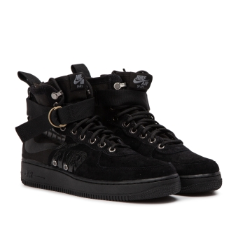 Nike SF Air Force 1 Mid (917753-008) schwarz