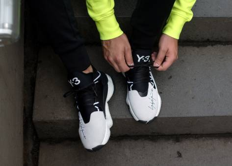 Y-3 BYW BBALL (BC0337) weiss