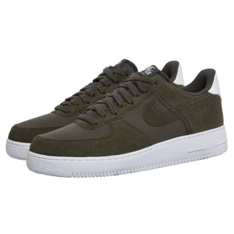 Nike AIR FORCE 1 07 SUEDE (AO3835) grün