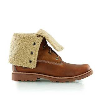 Timberland Authentics 6-Inch Shearling Boot (50919) braun