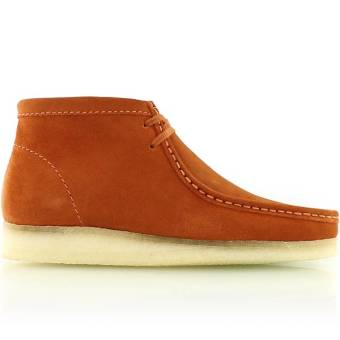 Clarks wallabee boot (261185697) braun