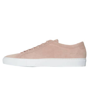 Common Projects Achilles Low (2121 ACHILLES LOW SUEDE 2015) pink