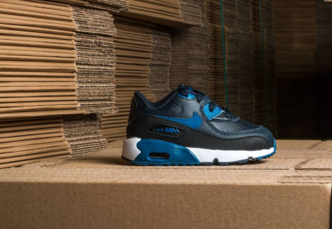 Nike Air Max 90 Leather (TD) (833416402) blau