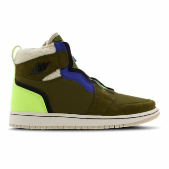 NIKE JORDAN WMNS Air 1 High Zip Utility (AV3723-300) grün