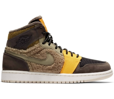 NIKE JORDAN Air 1 Retro High Premium Utility (AV3724-200) braun