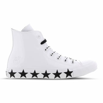 Converse X Chuck Miley Taylor Cyrus All Star Hi (563719C) weiss