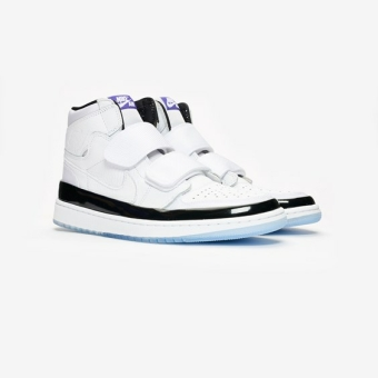 hot sale online ec9d2 5acd6 NIKE JORDAN Air 1 Retro High Double Strap in weiss - AQ7924-107   everysize