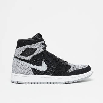 Nike Air Jordan 1 Retro High Flyknit (919702-003) schwarz
