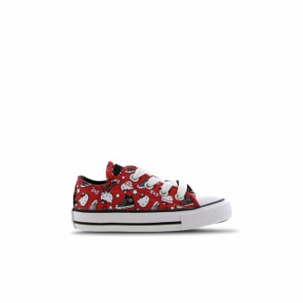 Converse Chuck Taylor All Star X Hello Kitty Low (763915C) rot