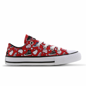 Converse X Hello Kitty Chuck Taylor All Star Low (363914C) rot