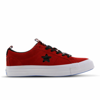 Converse X Hello One Kitty Star Ox (163905C) rot