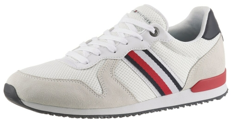 Tommy Hilfiger Hilfiger Iconic Material Mix Runner (FM0FM03470-0GY) weiss