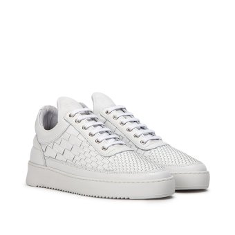 Filling Pieces Low Top Ripple Woven (2452622-WHITE) weiss