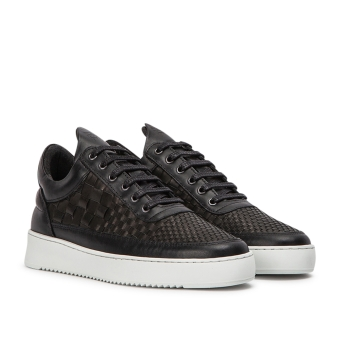 Filling Pieces Low Top Ripple Woven (2452622-BLACK) weiss