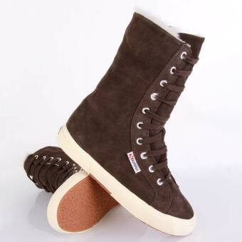 Superga 2040 Suebw Dark Chocolate Gefüttert (9920066618081) braun