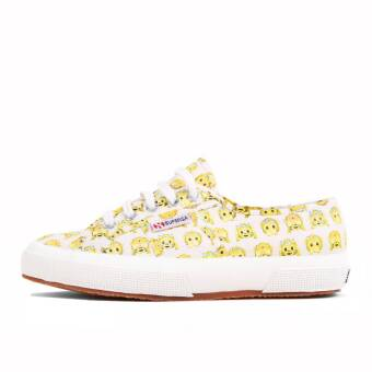 Superga 2750 Tres Click W Monkeys Emoticon (9920067317679) gelb