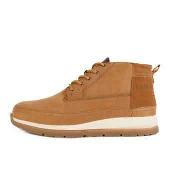 Boxfresh Cryser UH Lea Leather Sde Suede Tan (E-14839) braun