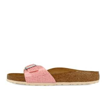 Birkenstock Madrid BF Magic Snake in pink 1009102 | everysize