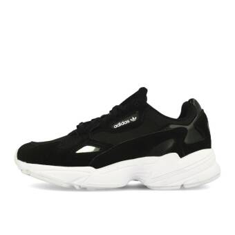 adidas Originals Falcon W Black Black White (9920068704577) schwarz