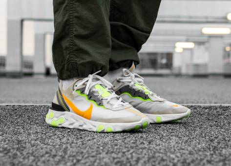 Nike React Element 87 (AQ1090-101) braun