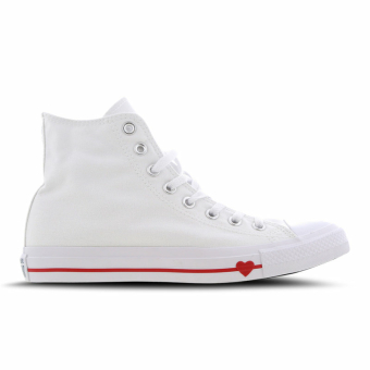 Converse Chuck Taylor All Star High Love The Progress (164683C) weiss