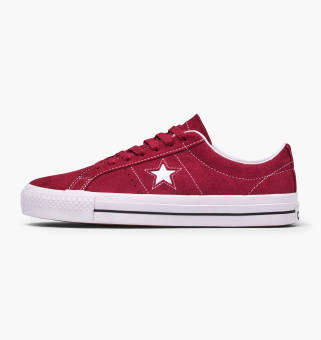 Converse One Star Pro Ox (163253C) rot