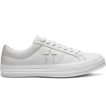 Converse One Star Leather (162884C) weiss