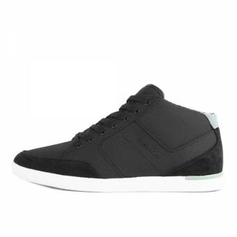 Boxfresh Cheam SH Ripstop Nylon Suede Black Green (E14754) schwarz