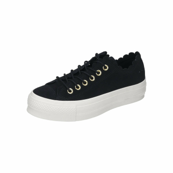 Converse Chuck Taylor All Star Frilly Lift Thrills Ox (563499C) schwarz