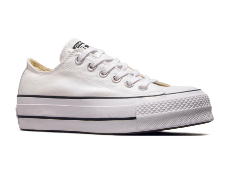 Converse Chuck Taylor All Star Lift OX in weiss 560251C   everysize