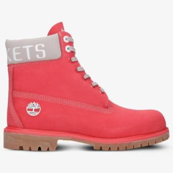 Timberland PREMIUM 6 INCH BOOT NBA HOUSTON ROCKETS (TB0A249EL611) rot