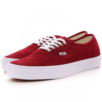 Vans Authentic Suede (VA38EMU5M) rot