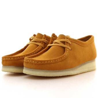 Clarks wallabee womens (261391294) gelb
