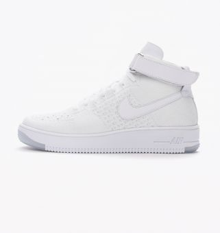 Nike Air Force Ultra 1 Flyknit Mid (817420 100) weiss