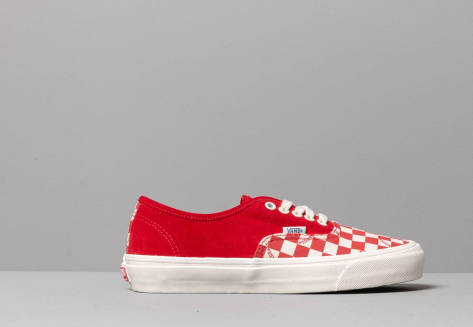 Vans OG Authentic LX (Suede/ Canvas) (VN0A45JJVQC1) rot