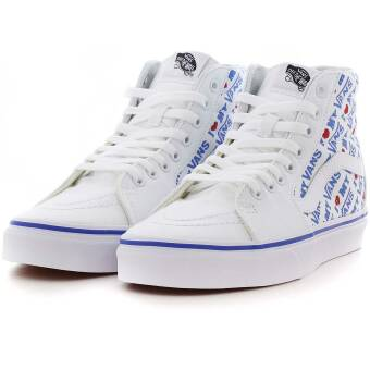 Vans ua Sk8 hi I Heart true white (VN0A38GEVP5) weiss