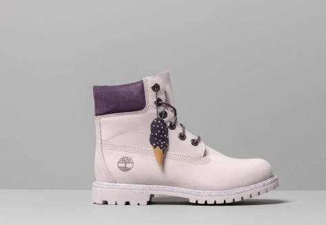 Timberland Premium 6 In Waterproof Boot (0A1VZU) lila
