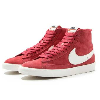 Nike Wmns Blazer Mid Suede Vintage (917862-602) rot
