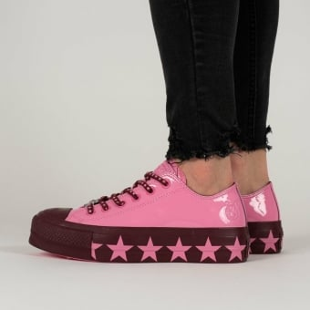 Converse Chuck Miley Taylor Cyrus All Star Lift Ox (563718C) pink