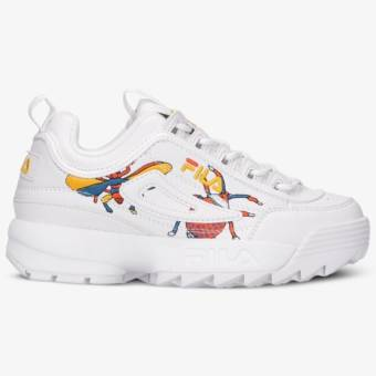 FILA DISRUPTOR CALABRONE LOW WMN (101060990A) weiss