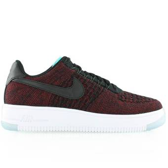 Nike Wmns Air Force 1 Flyknit Low (820256-002) schwarz