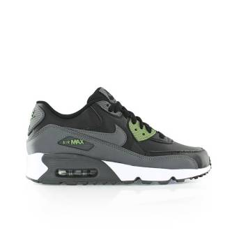 Nike Air Max 90 Leather gs Sneaker (833412-008) schwarz
